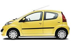 Peugeot - 107 1.0 cc or similar