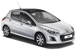 Peugeot - 308 1.4 cc or similar
