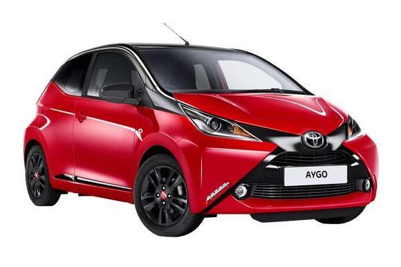 Toyota - Aygo  or similar