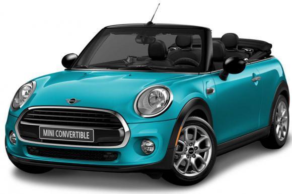 Mini - Cooper Cabrio or similar