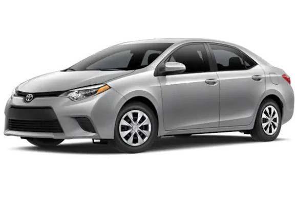 Toyota - Corolla or similar